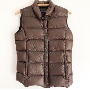 Lands'End down puffer vest.